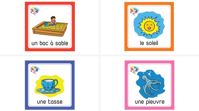 Au jardin des couleurs MS-Cartes lexicales